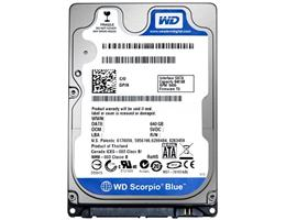 HDD western 320Gb notebook Scorpio Blue