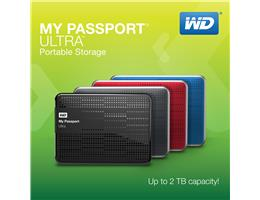 Western Digital ra mt  cng di ng My Passport Ultra